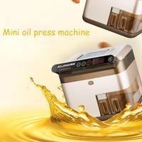 Oil Press Machine Automatic Seed Oil Extraction Machine Seed Oil Extractor Intelligent Sesame/Sunflower Seeds Oil Presser