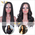 5A 150Density Human Brown Remi Hair Lace Front Body Wavy Wigs  Glueless Silky Straight Full Lace Human Hair Wigs For Women