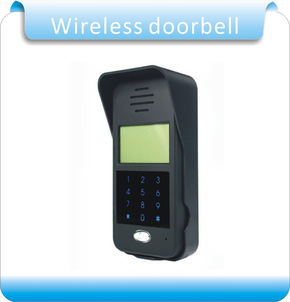 Free shipping Wireless Audio Intercom Remote Unlock  Full-duplex Intercom Digital Audio Intercom Door Phone F1652A
