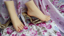 hot Newest simulate sweaty girls lesbians foot feet model footfetish mannequin domination