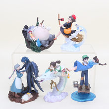 5pcs/lot Kiki's Delivery Service Spirited Away Totoro Figure kurenai no buta Hayao Miyazaki Movie PVC Action Figure Model Toys(China)