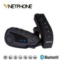 VNETPHONE V8 домофон 5 способ Bluetooth мотоцикл оборудование Шлемы гарнитуры FM стерео MP3 NFC удаленной Управление Поддержка смартфон