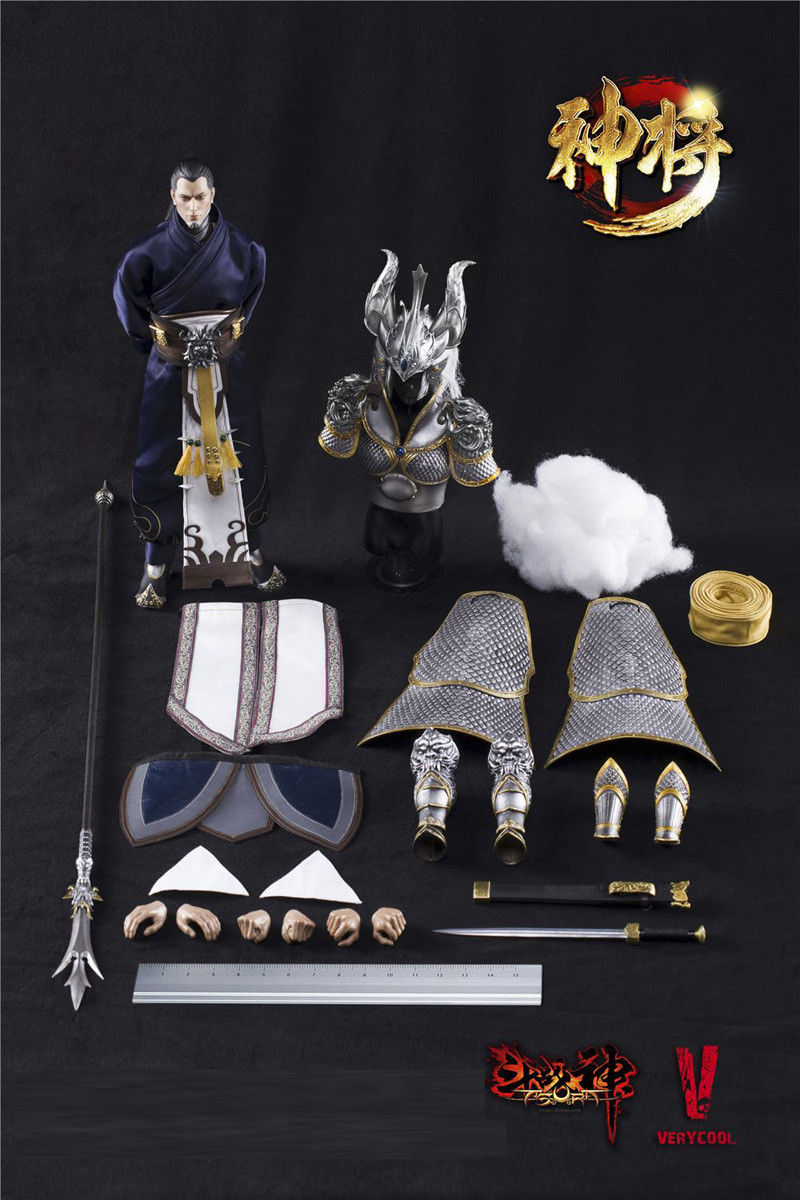 1/6 Scale Collectable VERYCOOL DZS-004 Asura Series Exiled God action figure Collectible Model Toys 3