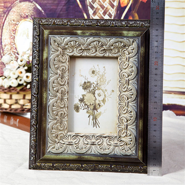 Online Shop Make Old Vintage Style Picture Frame Wooden Classic ...