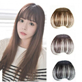 Hair Front Neat Bangs For Women Natural Hair Bangs Synthetic Clip in Bangs Front Neat Bangs Fringe Hair franja flequillo