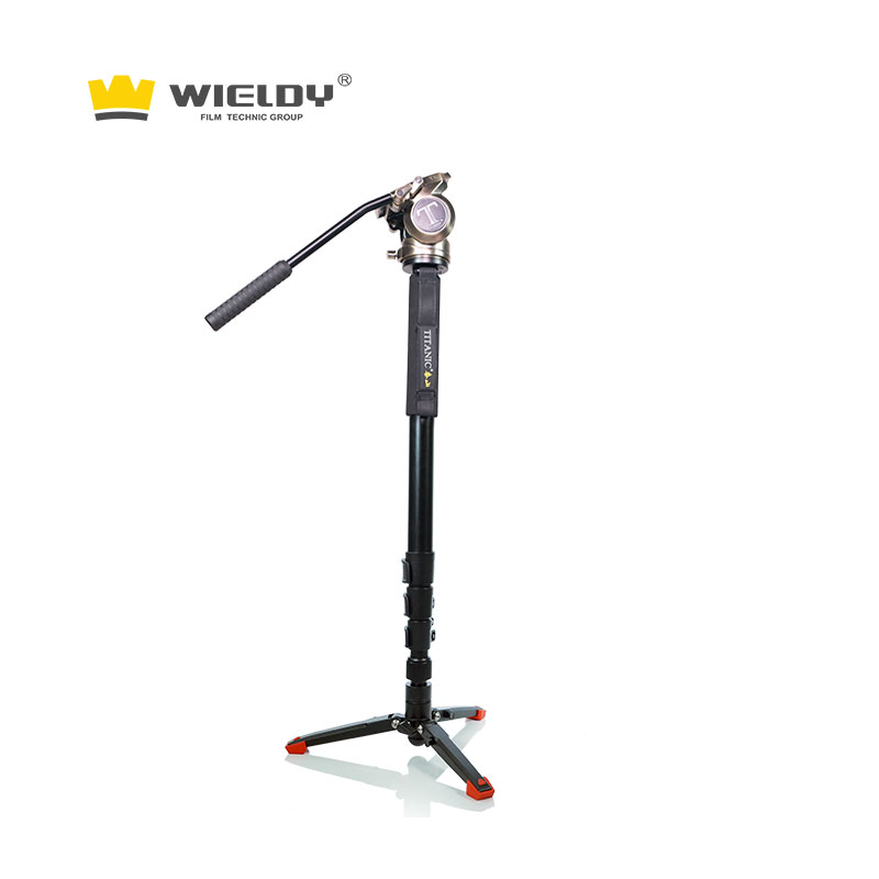 Lone ranger monopod camera can replace the tripod manfutu 701 hydraulic platform hand feel mount tai t5