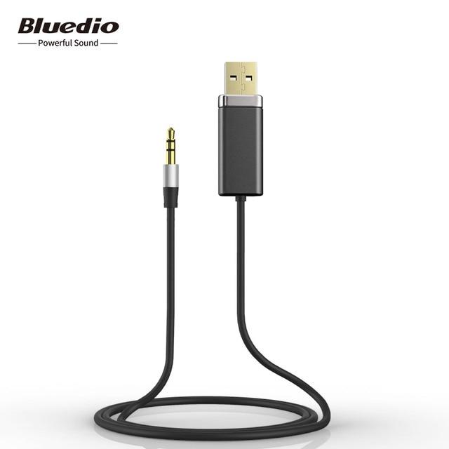 Bluedio BL Cable de Receptor Bluetooth para Altavoces Alámbricos de Suelo,con adaptador 3,5mm