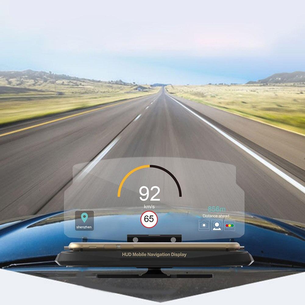 New Car GPS Phone HUD Mobile Navigation Bracket Head Up Projection Display Holder CSL2017