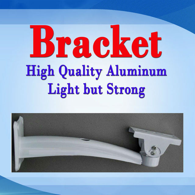 Light&Strong Aluminum Mounting Bracket for Megapixel IP Cameras(ONLY sold with 720P/960P/1080P AOTE Megapixel IP Cameras)