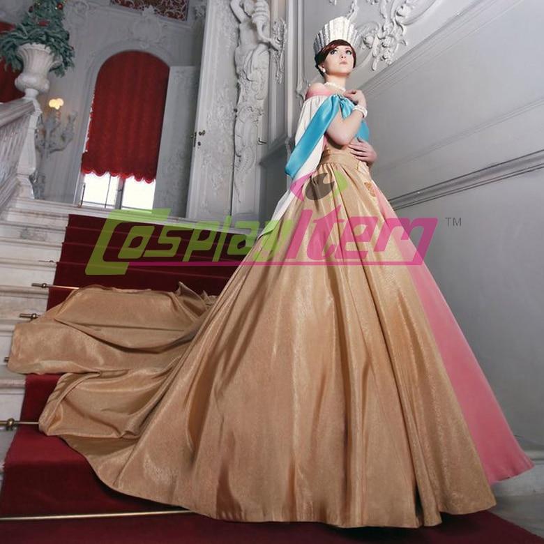 Anastasia yellow dress real life