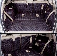 (Auto Reise) Gut! spezielle kofferraum-matten für Neue Toyota Land Cruiser Prado 150 7 sitze 2016 wasserdicht boot teppiche für Prado 2016