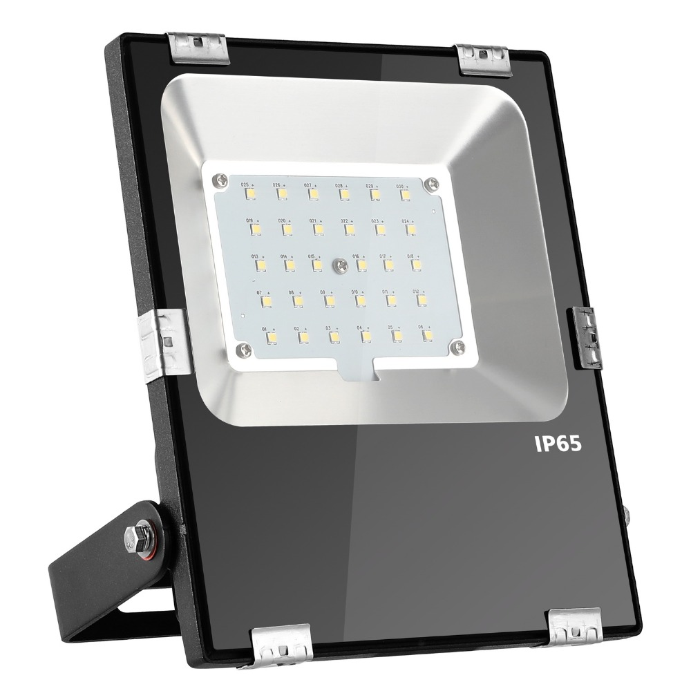 12 V 30 W étanche IP65 LED projecteur lumière d'inondation paysage lumière d'inondation extérieure lampe d'éclairage carré jardin projecteurs