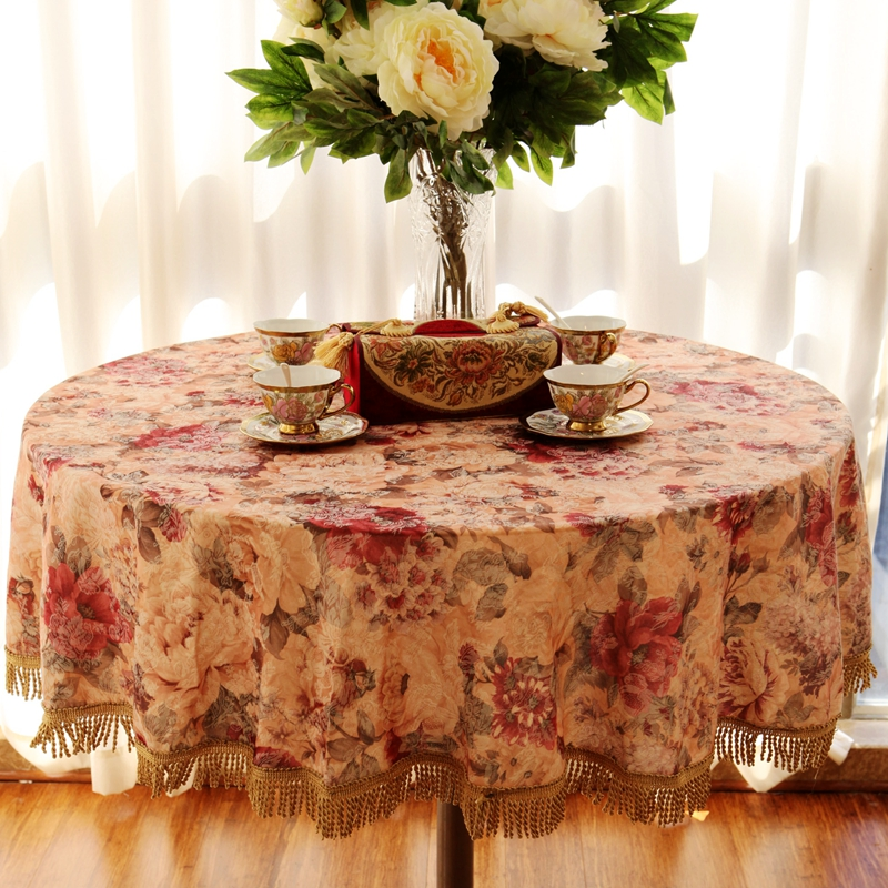 New embroidered Tablecover Tablecloth For Rectangle Table Wedding Event Patry Decorations Table Cover Table Cloth in Tablecloths from Home Garden