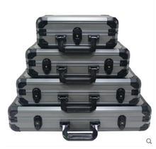 New 200-400pcs Casino Texas Poker Chips Capacity Suitcase Black Jack Pokerstars Container Case/Box Thick Aluminum