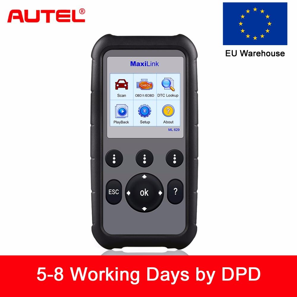 Autel ML629 Maxi Collegamento del Lettore di Codice Auto Strumento di Diagnostica OBD2 Scanner ABS Airbag Lettore di Codice di Aggiornamento Autel ML619 AL619