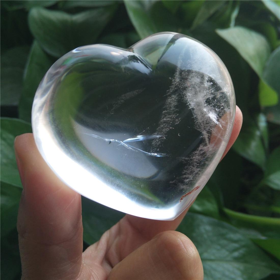 Pierres en Cristal cœur, Cristaux naturels Wicca, Islande, guérison, accessoires de décoration pour la maison