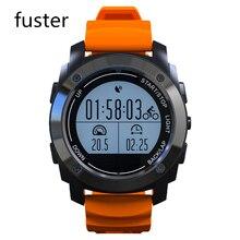 Alta Calidad Del Deporte Del Reloj Inteligente GPS Bluetooth Smartwatch para Android y IOS Teléfono Inteligente con Termómetro Metros de Altitud