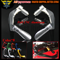 "For Yamaha TDM 900 XJR 1300/Racer R6S CANADA VERSION XSR 700 ABS 7/8"" 22mm CNC Handlebar Brake Clutch Levers Protector Guard"