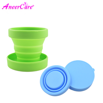 Copa Sterilizer Menstrual Cup Collapsible Silicone Cups flexible clean Menstrual Cup Recyclable Camping Foldable Sterilizer Cup