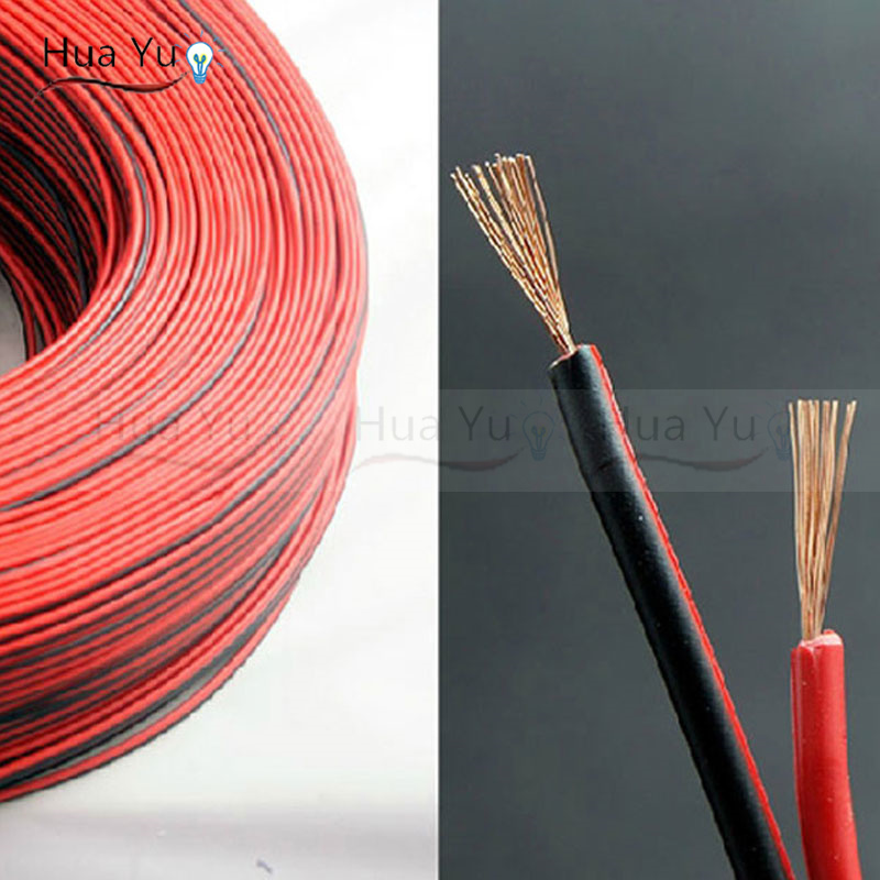 Pvc Insulated Wire : Copper awg pin red black cable pvc insulated wire