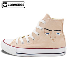 Shoes Men Women Converse Chuck Taylor Despicable Me Gru Customizable Design Hand Painted Shoes Girls Boys Canvas Sneakers Gifts