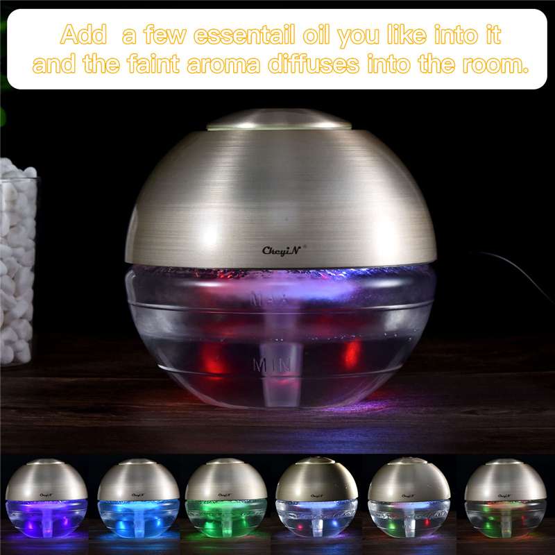 Portable USB Charging Air Purifier HEPA Filter Remove Dust Smoke Air Cleaner with LED Night Light Essential Oil Diffuser P49