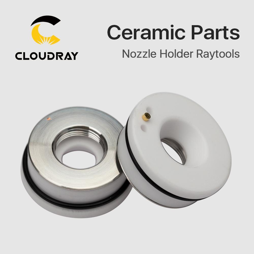 """""""Cloudray"""" lazerinė keraminė dia. 28 32 mm purkštuko laikiklio - Medienos apdirbimo mašinų dalys - Nuotrauka 4"""
