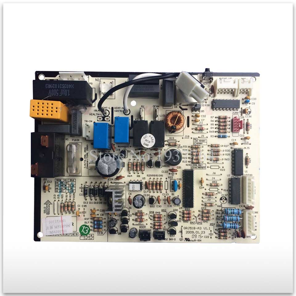 new for Gree Air conditioning computer board circuit board 300355625 300355624 M518F3 GRJ518-A good working 95% new for haier refrigerator computer board circuit board bcd 198k 0064000619 driver board good working