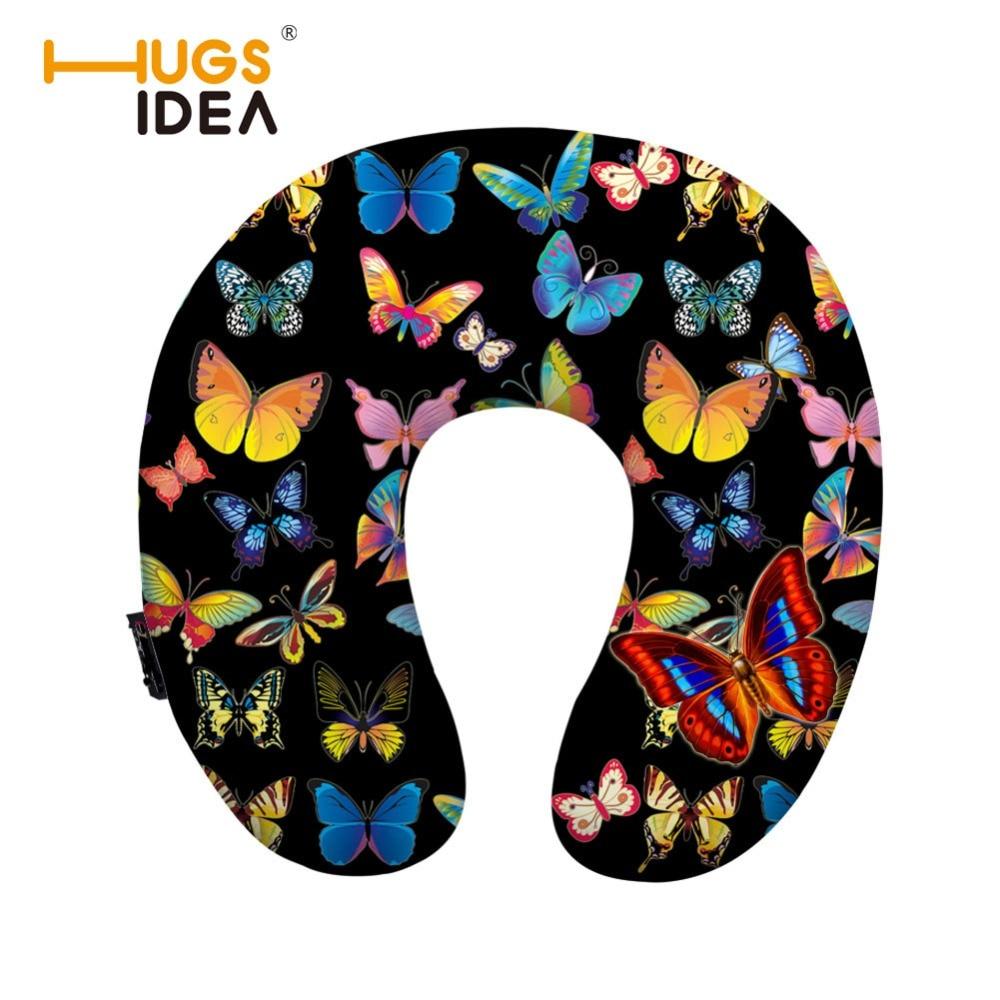 HUGSIDEA Imprimare Butterfly Spumă de memorie Gură de ședere - Textile de uz casnic