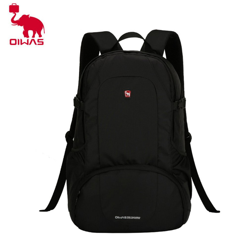 Oiwas Multifunctional Solid Color Men Women Laptop Backpack Business Style Travel Bag School Shoulder Bag Black oiwas multifunctional solid color men women laptop backpack business style travel bag school shoulder bag black
