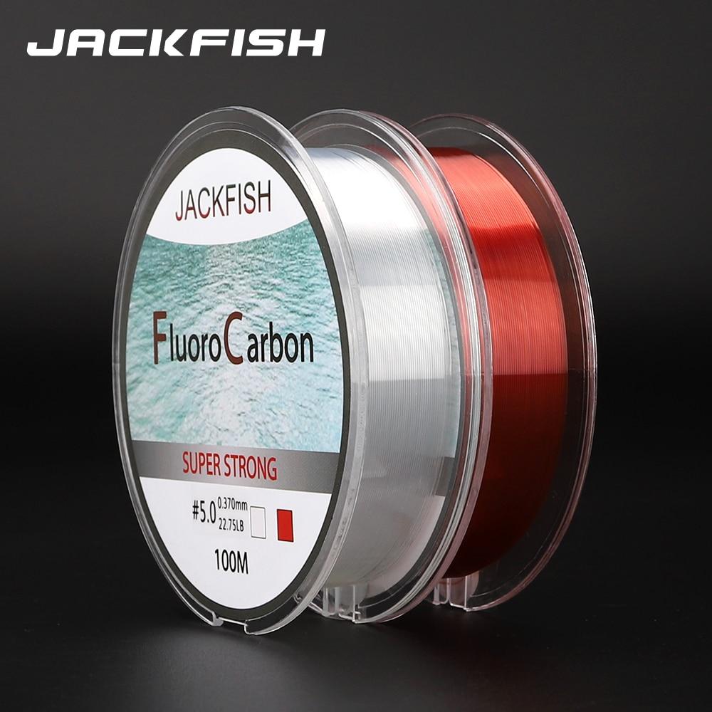 100 м флуоровъглеродна въдица червена / - Риболов - Снимка 6