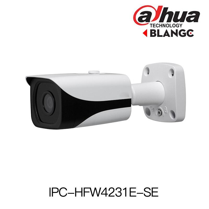 Dahua H.265 1080P IP Camera IPC-HFW4231E-SE Starlight WDR IR Mini Bullet Network Camera outdoor ip camera replace IPC-HFW4231E-S