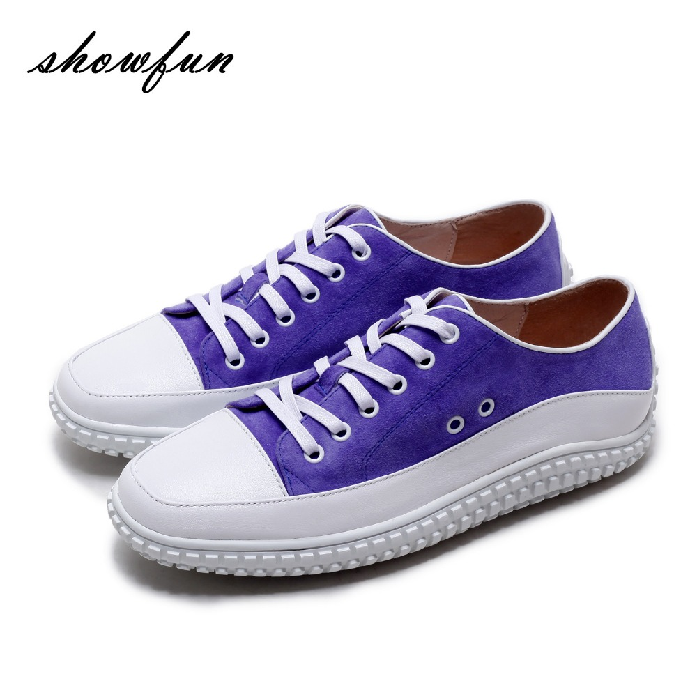 Women's Genuine Suede Leather Lace-up Platform Flats Oxfords Brand Designer Square Toe Fashion Leisure Espadrilles Shoes Women qmn women genuine leather platform flats women lace cut glossy leather square toe brogue shoes woman lace up leisure shoes 34 39