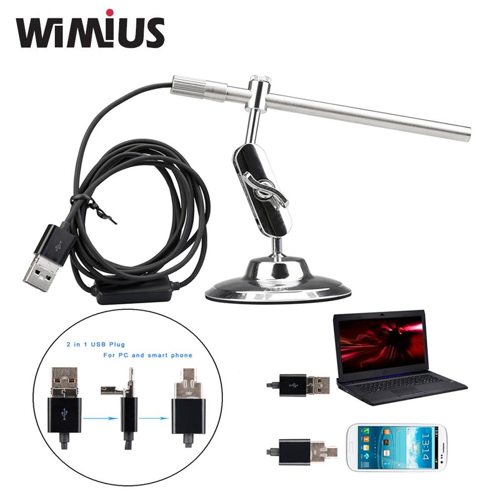 Wimius Portable Digital USB Microscope Endoscope Magnifier Waterproof Video Camera CMOS Sensor HD MIni Cam 10x
