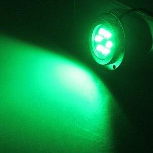 Image 5 - Wysokiej mocy podwodne światło 12 W LED łódź morska jacht światła wodoodporna lampa krajobrazowa