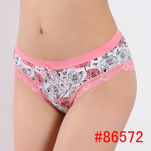 Aliexpress.com : Buy Quality Cotton Women Underwear With Rose ...