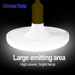 LED Bulb E27 220V Energy Saving Lamp SMD5730 20W 40W 50W 60W Cold White UFO Lampadas Led Lights for Home Bombillas Led Vintage
