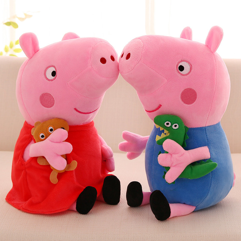 Peppa Pig George Pig 19cm Plush Toys For Kids Girls Baby Birthday Party Animal Plush Toys Gifts