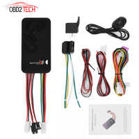 Mini Car GPS Tracker GT06 GSM GPRS Vehicle Motorcycle Tracker Tracking Device Monitor Locator Remote Control