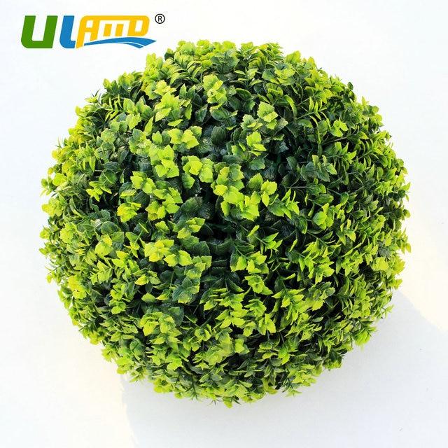 Decorative Boxwood Balls Enchanting Uland Artificial Boxwood Balls Plastic Plants Kissing Balls Faux 2018