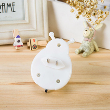 Lovely Ladybug Shaped Plug-Typed Plastic LED Nightlight