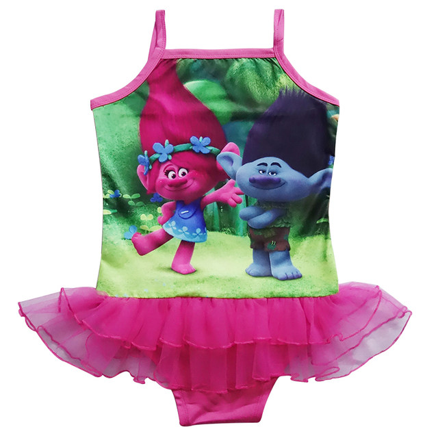 Online Shop Baby Girls Swimwear Summer Kids One Piece Swimsuit ...