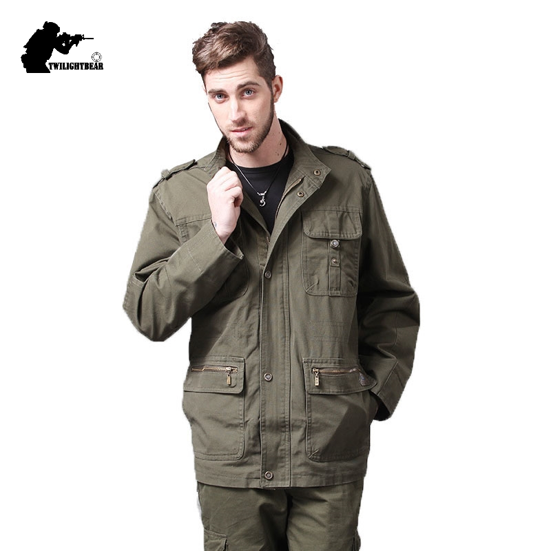Men's Jacket Designer Coat Clothing Hoode Male Fashion Cotton New Military 4XL Fat Slim