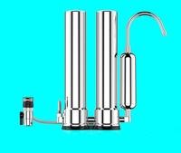 새로운 물 필터/3 단계 수조 탭 필터/직접 dirnking 물 솔루션과 304 스테인레스 스틸 정수기