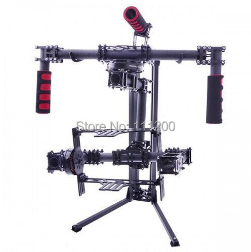 Carbon Fiber Foldable Handheld Brushless Gimbal Stands for 3-axis Handheld Brushless Gimbal/ PTZ the ptz handheld unit carbon fiber for align g3 gh g3 5d aerial triaxial gimbal