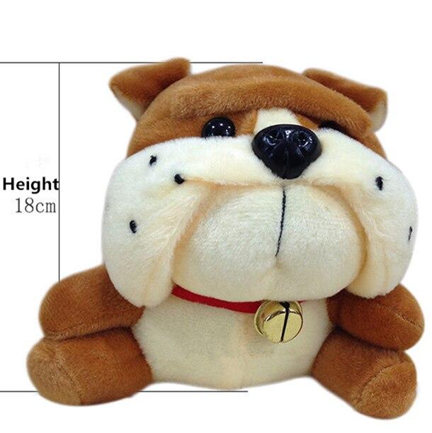 Kawaii Plush Baby Toy Kids Toys Bulldog Sharpei Bull Stuffed Pug Dog