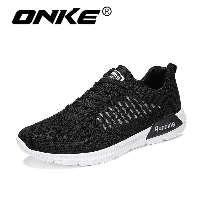 2018 Summer Superlight Men Running Shoes Women Breathable Mesh Sneakers Comfortable Sports Man Non-Slip Walking Shoes