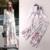 Moda Feminina Conjunto Pant Casuais Primavera Verão 2017 Blusas Imprimir Top + Calças de Impressão Perna Larga Calça Senhoras Twinset Mulheres roupas