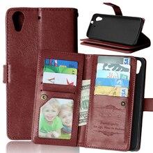 Luxe 9 Kaarten Slots Wallet Telefoon Case Voor Htc Desire 626 626S 626G 626G + Magnetische Flip lederen Cover Stand Cases Coque Fundas