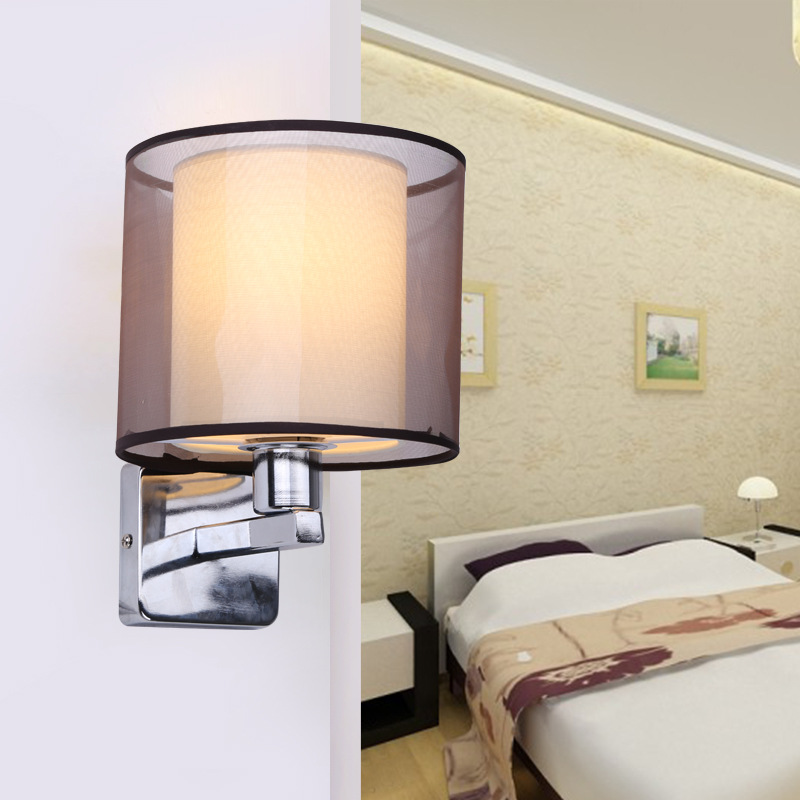 Modern Creative Iron Wall Lamp Living Room Bedroom Bedside Wall Lamp Led Lighting Led Lamp Wholesale Creative Hotel modern bedroom bedside energy saving wall lamp restaurant living room fashion creative lighting personalized led lighting